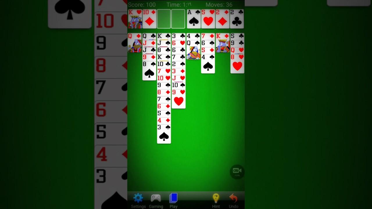 solitaire no downloads free online games
