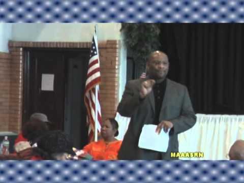 DR. MARGARET BURROUGHS, A PRESENTATION AT FERNWOOD UNITED METHODIST CHURCH