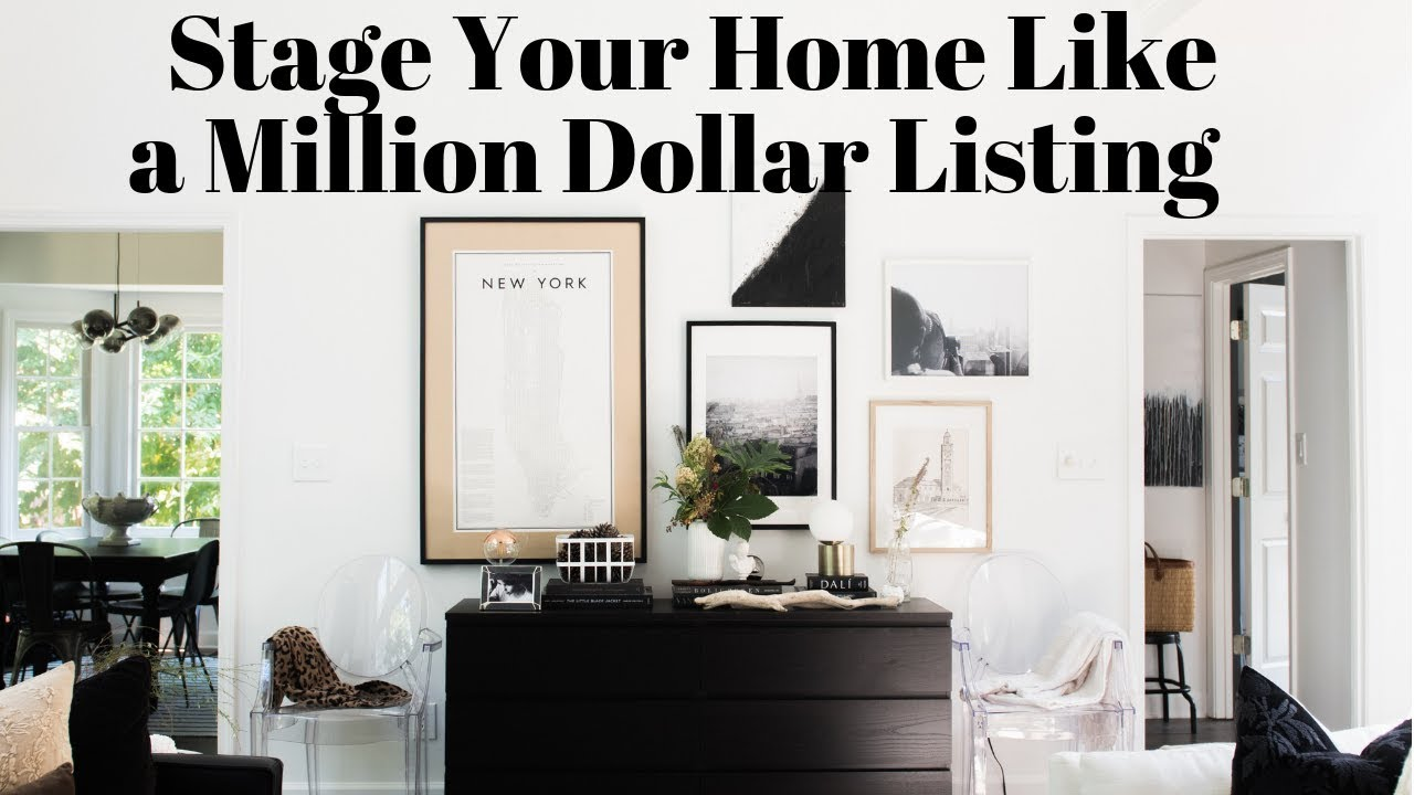 How To Stage Your Home Like A Million Dollar Listing On Budget