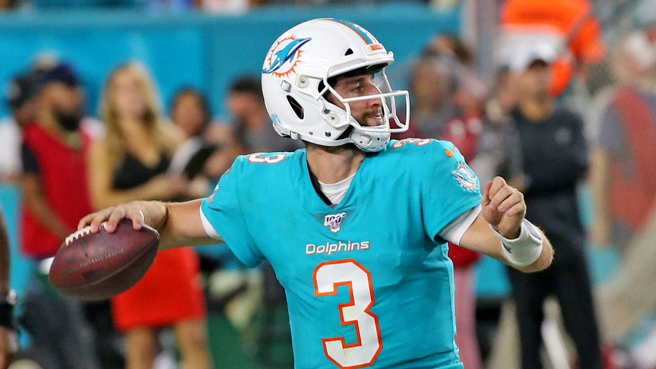 Miami Dolphins say, 'It feels good to win, don't it?' Yes, it definitely ...