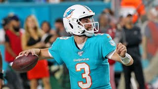 Miami Dolphins quarterback Josh Rosen feels like he's trying out for the team