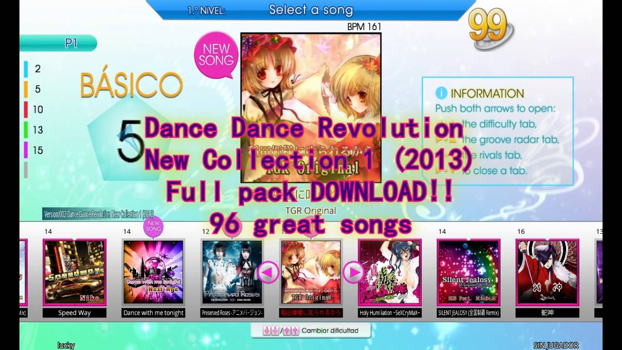 Pack] ddr extreme 2 song list + download youtube.
