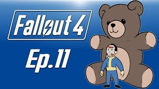 Delirious plays Fallout 4! Ep. 11 (GIANT TEDDY BEAR & DOGMEAT!!!) To the skies!