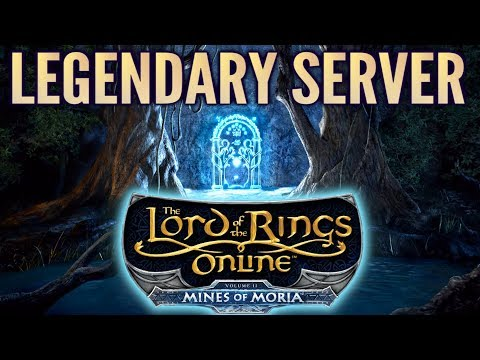 LOTRO News: Mines Of Moria Coming To The Legendary Server! (New Announcement And Info)