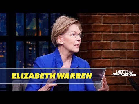 Sen. Elizabeth Warren Discusses Iran, Avoiding War and Trump's Impeachment Trial