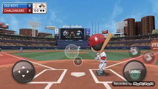 Baseball 9 HOME RUN EN 2 INING
