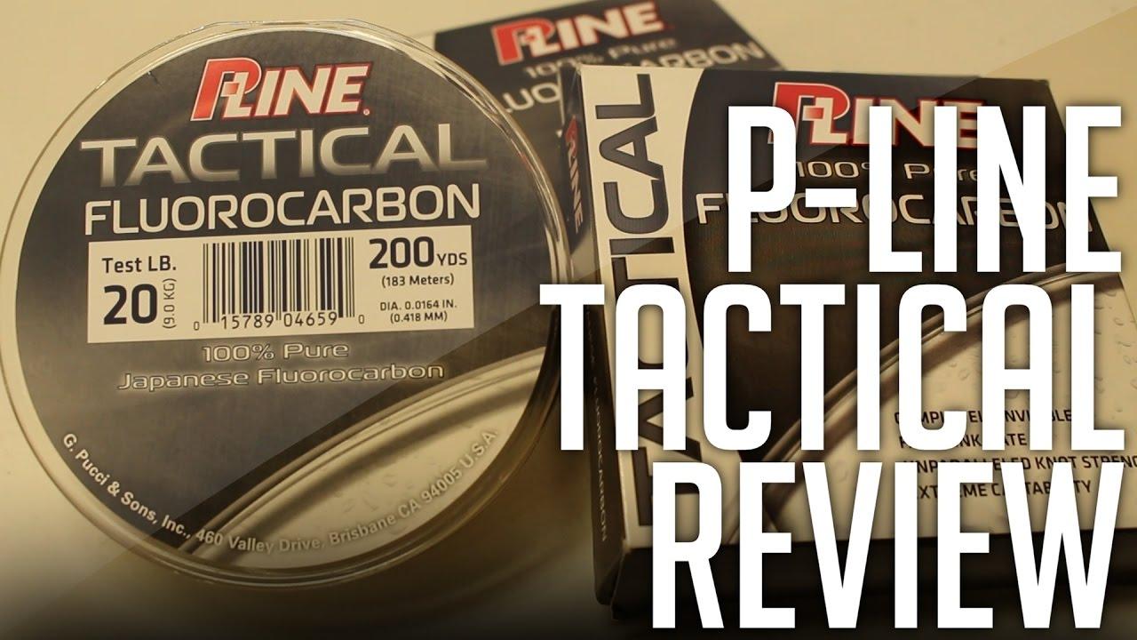 P-Line Tactical 100/% Pure Fluorocarbon Line 200 Yds