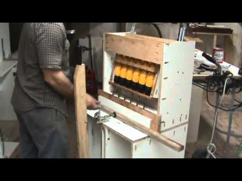 Homemade 6 Hole Pocket Hole Machine Test Run Youtube