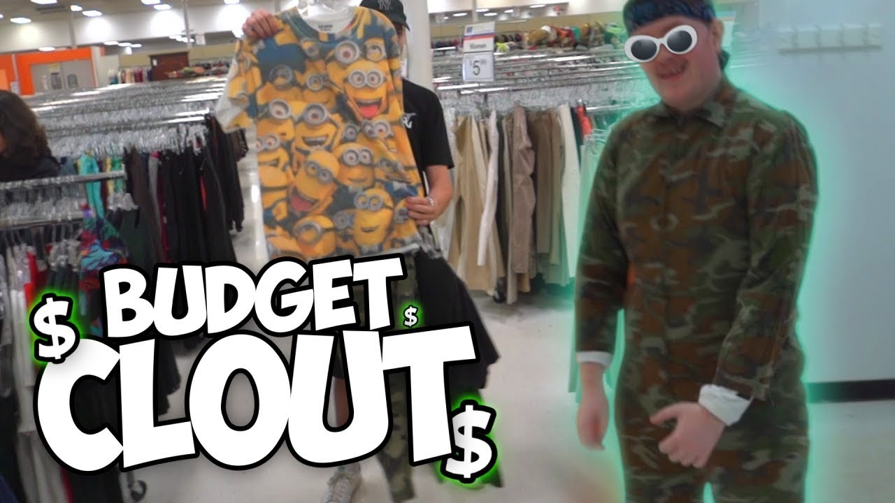 Finding BUDGET CLOUT at the Thrift w/ The SoaR House! - *500 likes and we'll get straight fitted at Goodwill again*