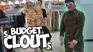 Finding BUDGET CLOUT at the Thrift w/ The SoaR House!
