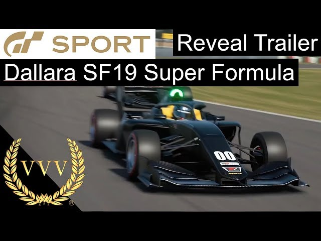 Dallara SF19 Super Formula - GT Sport Announcement Trailer