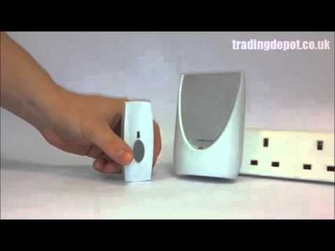 How To Set Up Byron BY202F Wireless Plug-In Door Chime Strobe Kit White