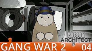 Prison Architect Gang War 2 - Part 4 - Handling Death - Gameplay