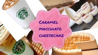 Caramel macchiato cheesecake