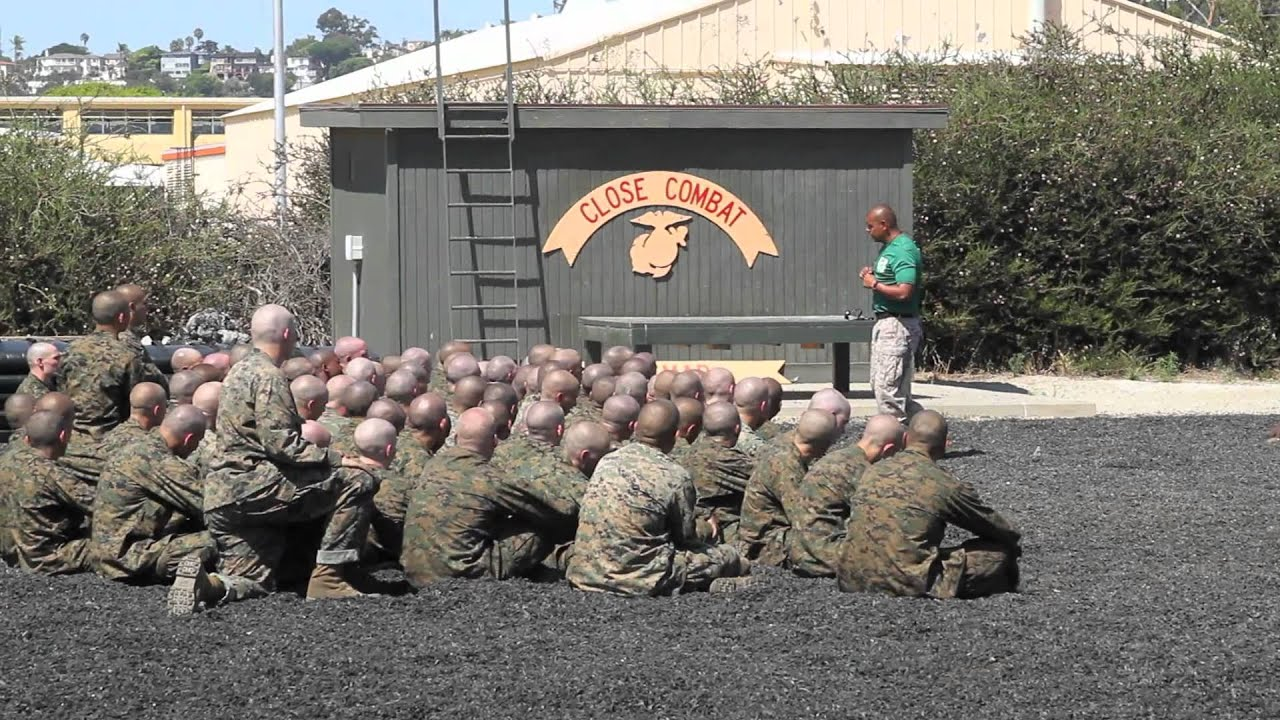 Recruit Training - Week 1 - YouTube