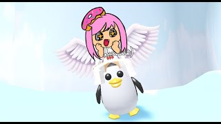 ADOPTING CUTE PENGUINS 🐧 FREE GIVE AWAY ROBLOX ADOPT ME! PENGUIN UPDATE NEW ICE CREAM STORE🍦