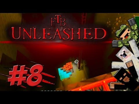 Minecraft Feed The Beast Unleashed #8 - Rubber Rampage