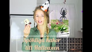 Baka med Frida - Spökliga kakor till Halloween