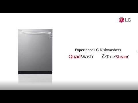 LG LDP7708ST 24 Inch Built In Fully Integrated Dishwasher