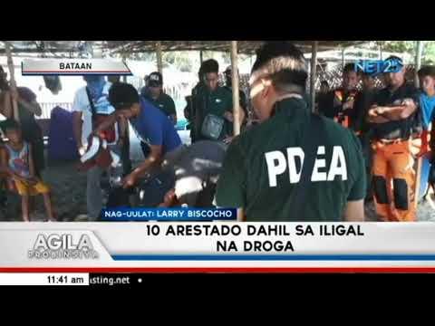 10 arestado dahil sa iligal na droga sa Bataan