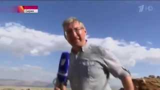 Сирия война видео  Репортаж из города Бахса  Новости сегодня 2015