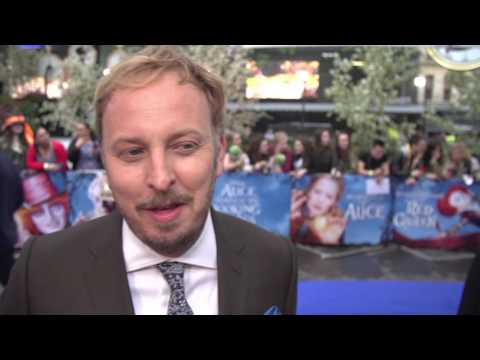 Alice Through the Looking Glass: Director James Bobin Red Carpet Movie Premiere