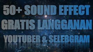 Gambar cover 50+ SOUND EFFECT GRATIS LANGGANAN YOUTUBER DAN SELEBGRAM