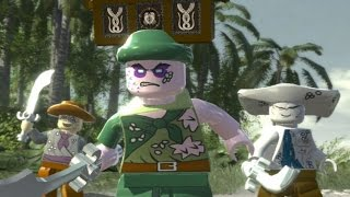 LEGO Pirates of the Caribbean - 100% Guide #9 - Isla Cruces (All Collectibles)