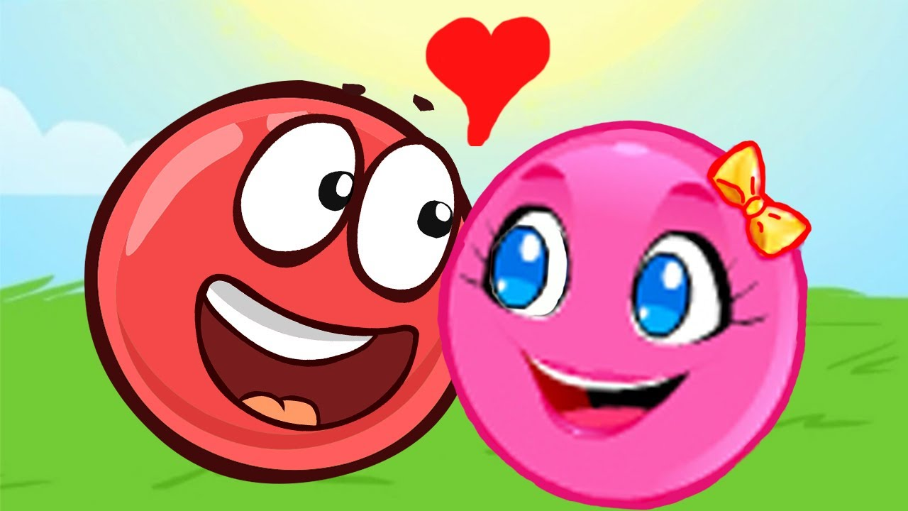 Новый КРАСНЫЙ ШАР, Красныш и Соня, мультик игра про красный шарик #116