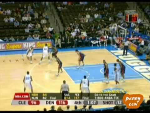 Allen Iverson 37pts 8asts vs King James Cavaliers 07/08 NBA
