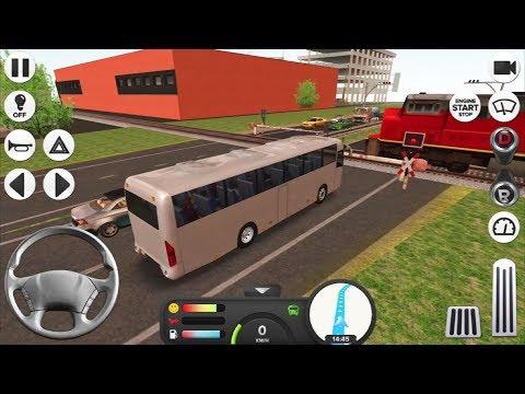 Coach Bus Simulator #3 FRANKFURT! - Android IOS gameplay