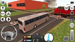 Coach Bus Simulator #3 FRANKFURT! - Android IOS gameplay