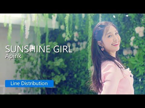 apink---sunshine-girl-:-line-distribution
