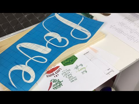 DIY paint Stain wood sign + new products
