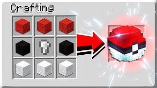 How to CATCH POKEMON in Minecraft Tutorial! (NO MODS!)