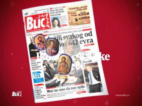 Blic Ikone I Mapa Srbije Mpeg 2 Youtube
