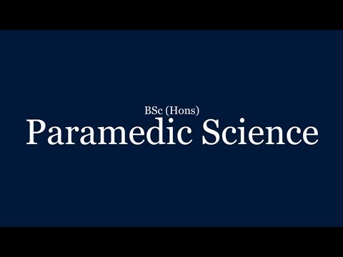 Paramedic Science | BSc (Hons) | University of Lincoln