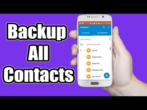 How To Backup Contacts On Android Phone