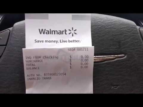Walmart American Express Blue Bird Epic Fail