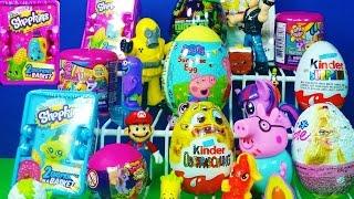 shopkins season 2 surprise baskets peppa pig surprise mega bloks sponge bob kinder surprise
