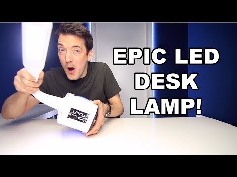 GERINTECH LED DESK LAMP REVIEW!