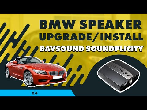 Bavsound Stage One Bmw E89 Z4 2009 Speaker Upgrade
