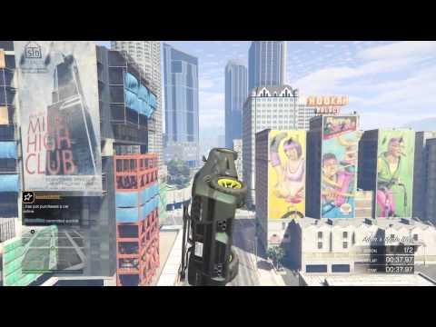 "A GTA Online ""How To"" - Car Stunt Race Basics"