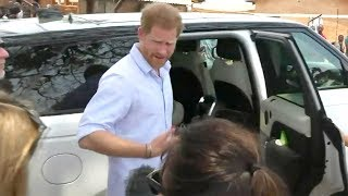 Watch Prince Harry SCOLD Royal Reporter During Ambush Interview