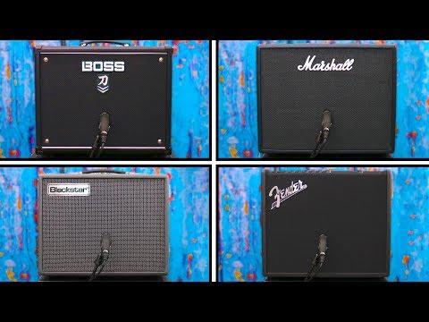Modeling Amp Shootout - Katana VS Marshall VS Blackstar VS Fender
