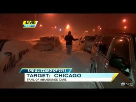 Historical 2011 Blizzard News Compilation- 1 Year Later