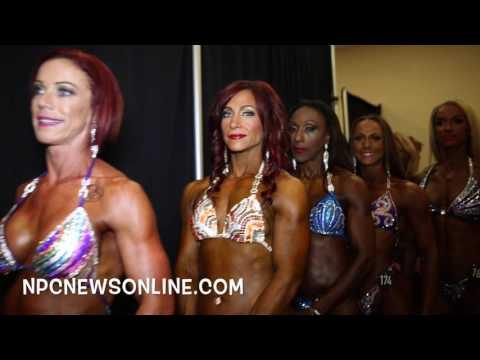 2016 NPC Atlantic States Women's Backstage Video