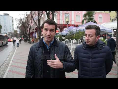 Tiranë, zgjerohen trotuaret - Top Channel Albania - News - Lajme