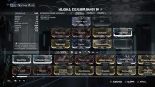 Warframe Excalibur Espada Cromática (0 forma)