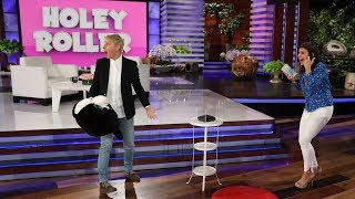 Ellen Gives Fan a Second Chance on 'Holey Roller'